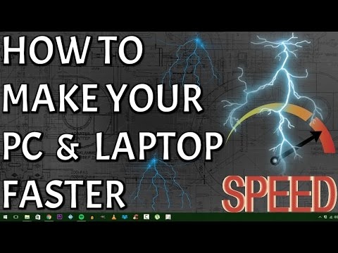 5 Tips To Make Your Computer Faster - Speed Up Your PC & Laptop 100% in Minutes. For Windows 10 & 8