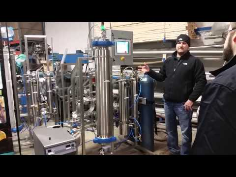 Apex Supercritical CO2 Extractor Process
