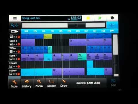 NanoStudio iPad / iPhone song #3