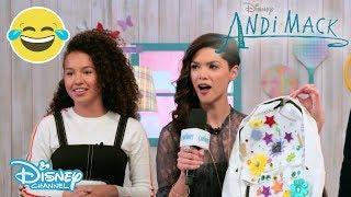Andi Mack | Backpack DIY Challenge | Official Disney Channel UK