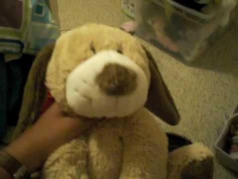 Sarah's Webkinz Jr. (Tan Puppy)