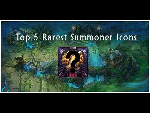 Top 5 Rarest League of Legends Icons