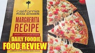 CPK Margherita Pizza Review - Crispy Thin Crust - California Pizza Kitchen
