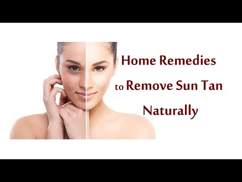 How to Remove Sun Tan from Face & Body Instantly? [Home Remedies]