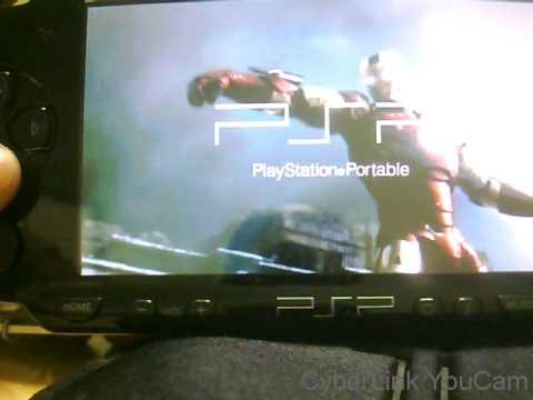 Ironman PSP gameboot