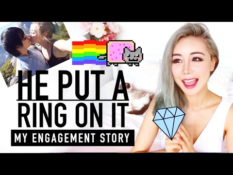 My Engagement Proposal Story ♥ My Engagement Ring Reveal ♥ Wengie
