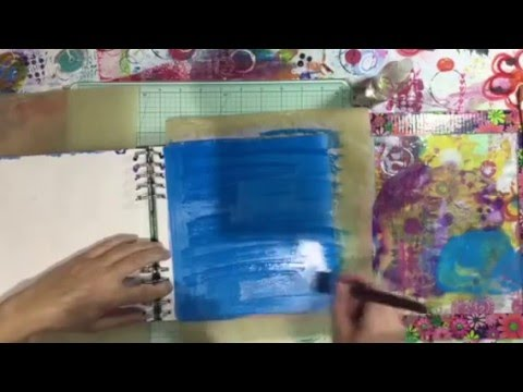 Mixed Media Morsels - Alcohol Ink Background 3
