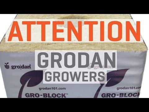 ATTN: Grodan Growers