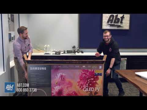 Unboxing Samsung QFN QLED TV QNQFN - Abt samsung tv