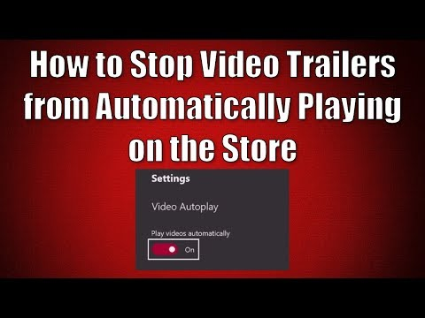 How to Stop Video Trailers from Automatically Playing on the Xbox Store