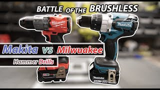 BATTLE OF THE BRUSHLESS!!!  (Makita vs Milwuakee)
