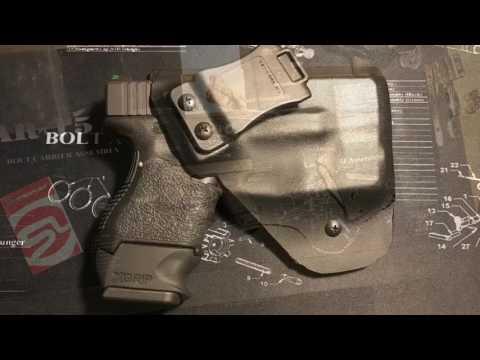 Stream light & Kydex holster for Glock 27