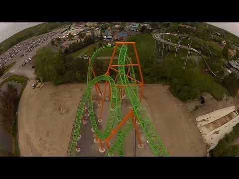 Riding Darien Lake's new Tantrum roller coaster