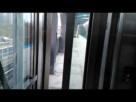 Graeginator Rides The Glass Elevator at CTA Cermak-McCormick Place Green Line Station in Chicago (S)