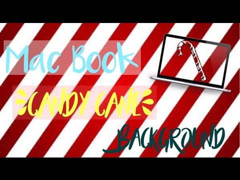 Macbook Candy Cane Green Screen! | Jasmine