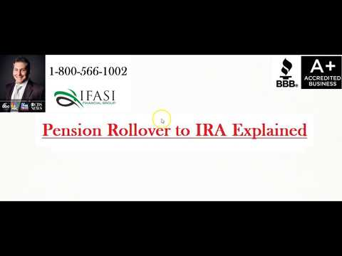 Pension Rollover to IRA - Pension Rollover to IRA Review
