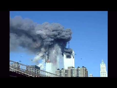 WTC2 Plane Impact Wing Disappears
