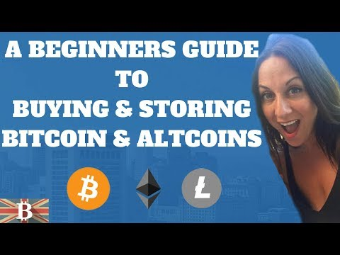 Cryptocurrency Beginners Guide to Buying & Storing Bitcoin & AltCoins