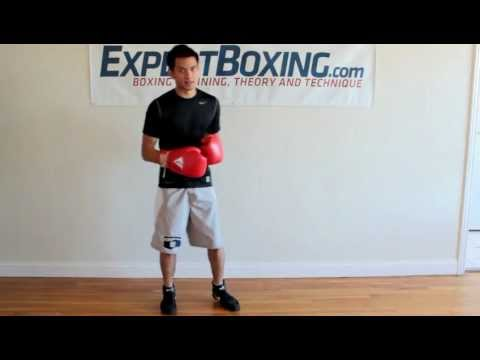 Boxing Footwork Technique #1 - Step-drag