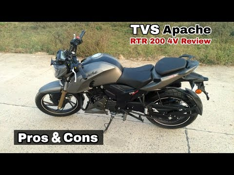 TVS Apache RTR 200 4V Full Test Ride with its competition, pros & cons, price, vs pulsar 200ns