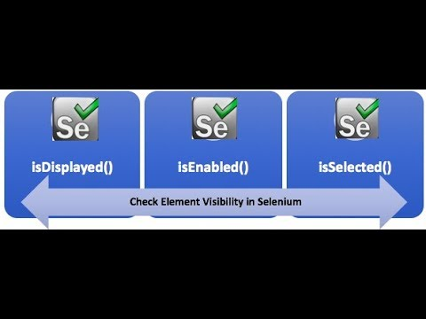 Difference b/w isDisplayed, isEnabled and isSelected Methods - Selenium WebDriver Session 13