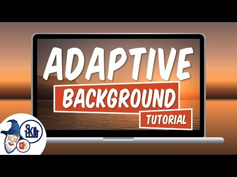 Adaptive Background Effect in PowerPoint (Tutorial)