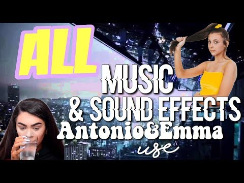 ALL THE MUSIC & SOUND EFFECTS ANTONIO GARZA AND EMMA CHAMBERLAIN USE