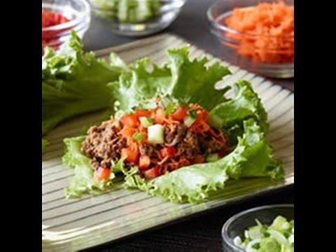 Easy Asian Lettuce Wraps Recipe