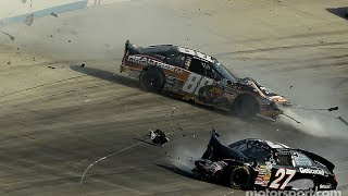 Hardest NASCAR Crashes at Dover