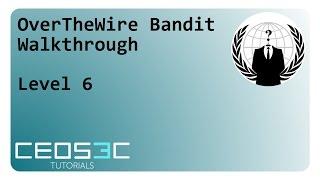 OverTheWire Bandit Walkthrough Part 1 - Level 0 - 6 - PakVim
