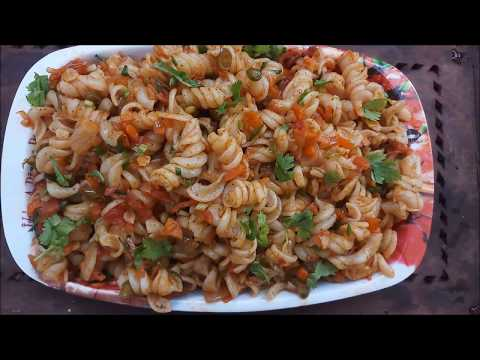 Spicy Masala Pasta/How to make pasta in tamil/பாஸ்தா செய்வது எப்படி/Breakfast and Dinner Recipe