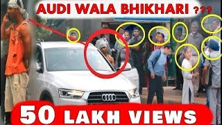 RICHEST BEGGAR With AUDI (Prank) Awesome Reactions