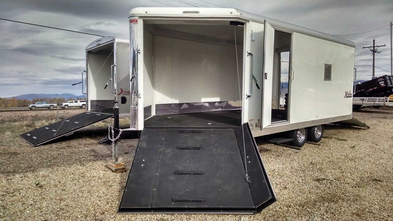 2015 Mirage 3-Place Extreme Snowmobile Trailer - Western States For Sale