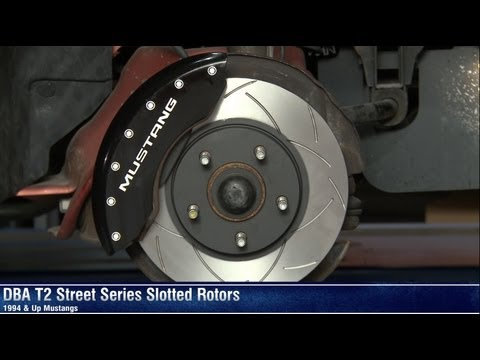 Mustang DBA T2 Street Series Slotted Rotors Review