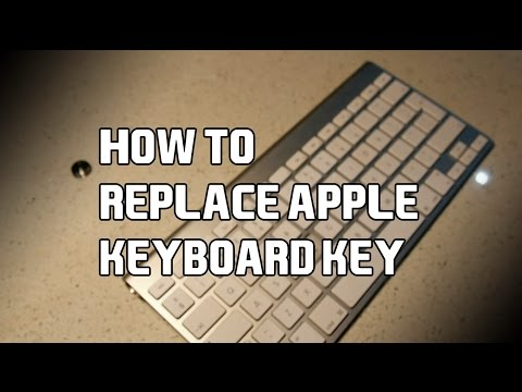 How to Replace Apple Keyboard Keys