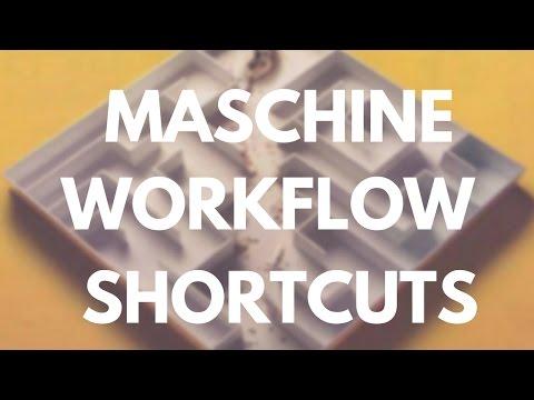 My Top 3 Workflow Shortcuts on Maschine