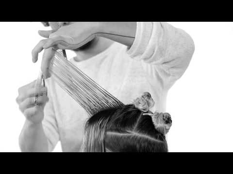 long textured haircut,layers tutorial