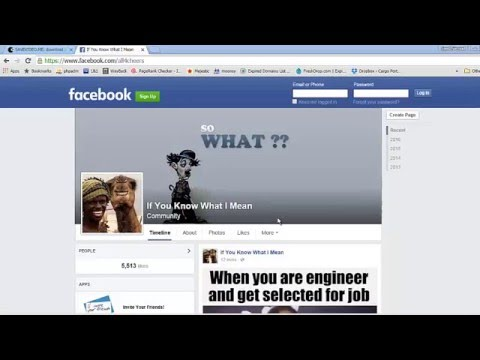 Download Facebook Videos Online | Without Software