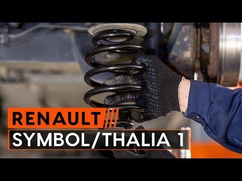 How to replace springs onRENAULT SYMBOL/THALIA 1[TUTORIAL AUTODOC]