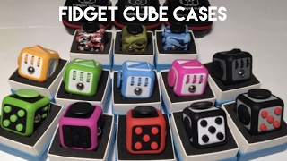 Download FIDGET CUBE CASES AND HUGE UNBOXING - officialfidgetcube fidget Cubes and accessories review Video