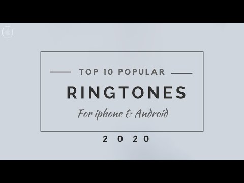 Top 10 Popular Ringtones for iPhone and Android 2018 | With DOWNLOAD Links | NO ADS | FEB 2018