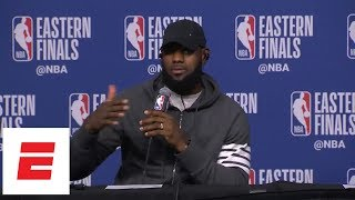 LeBron James perfectly recalls all six of his turnovers from Game 5 | ESPN