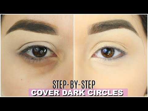 HOW TO CONCEAL UNDER EYE DARK CIRCLES WITHOUT CREASING