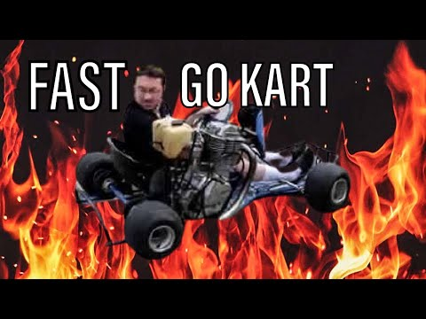 Go Kart With Motorcycle Engine!
