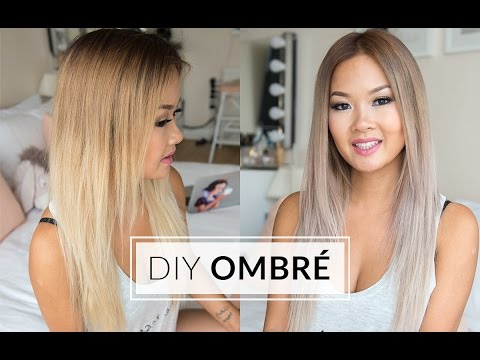 HOW TO OMBRÉ YOUR HAIR AT HOME