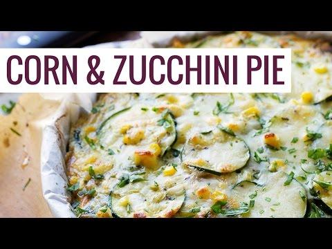 Sweet Corn and Zucchini Pie
