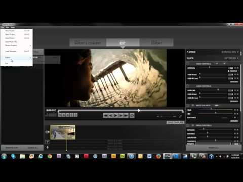 Tutorial - Extracting a frame from a GoPro video using GoPro Studio