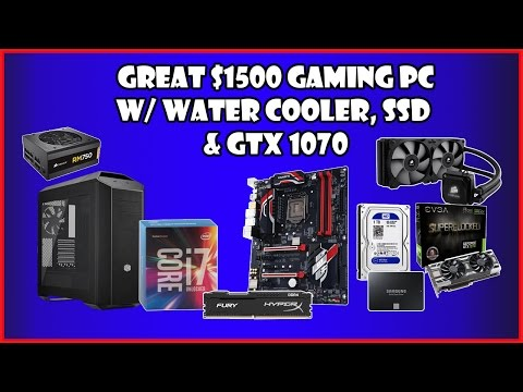 High End Gaming PC Build $1500 2016