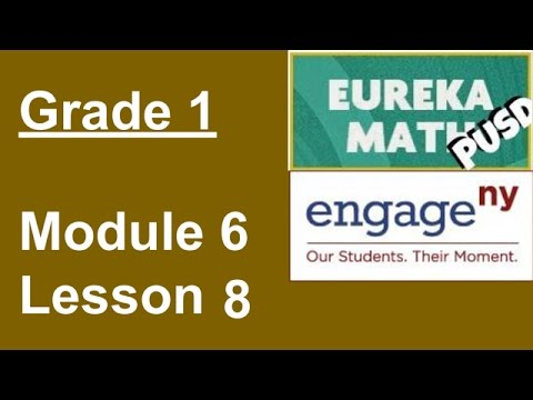 Eureka Math Grade 1 Module 6 Lesson 8