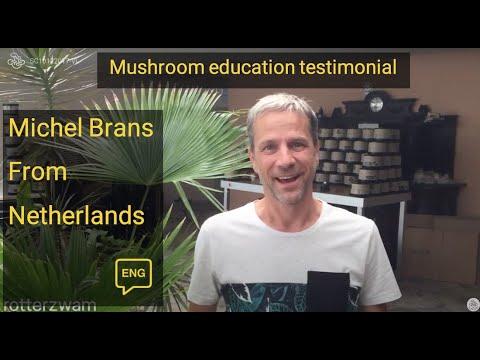 Michel Brans on his Mushroom Master Program